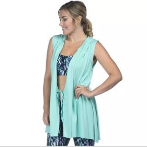 Other - PINK LOTUS Hooded Swimsuit Coverup